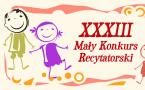 XXXIII Mały Konkurs Recytatorski